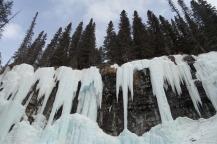 Frozen natural water